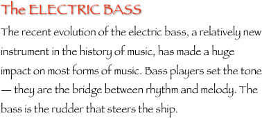 The ELECTRIC BASS